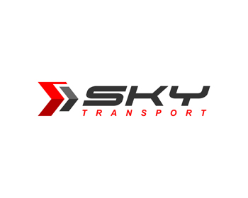 SKY TRANSPORT logo design