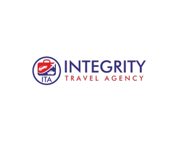 Integrity Travel Agency logo design