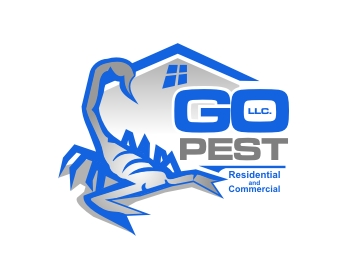GO Pest LLC. logo design