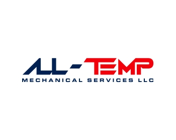 All-Temp Mechanical Services LLC logo design