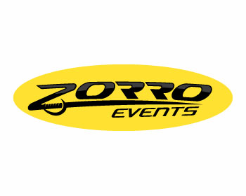 Zorro Events logo design