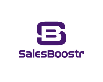 SalesBoostr logo design