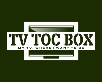 TV TOC BOX logo design