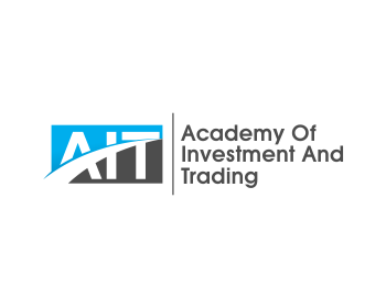 AIT|Academy of Investment and Trading logo design