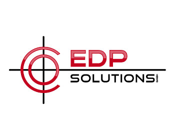 EDP Solutions GmbH logo design