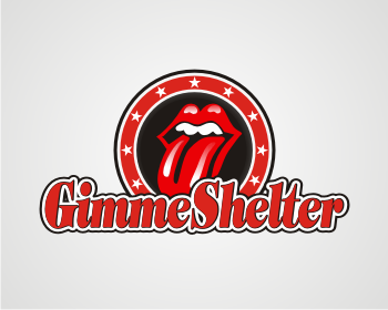 Gimme Shelter logo design