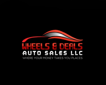 Wheels & Deals Auto Sales LLC logo design