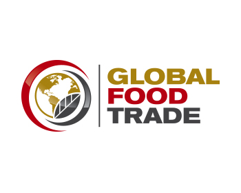 global food trade logo design
