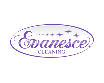 Evanesce Cleaning logo design