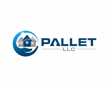 Pallet, LLC logo design
