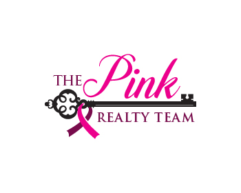 Logo design for The Pink Realty Team