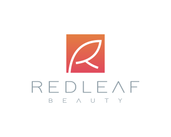 Red Leaf Beauty logo design