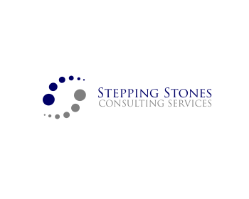 Stepping stones consulting services logo design contest for Design consulting services