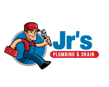 Jr's Plumbing and Drain logo design