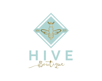 Hive Boutique logo design