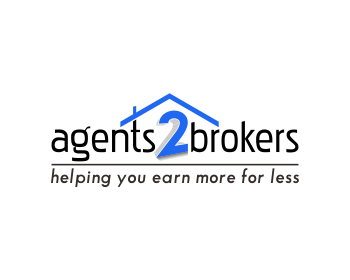 agents2brokers logo design