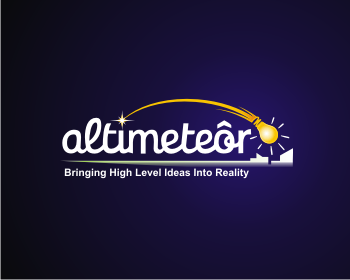 Altimeteor logo design