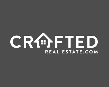 Crafted Real Estate.com logo design