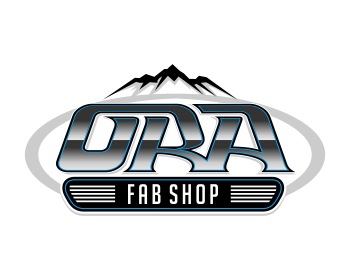 O.R.A fab shop logo design