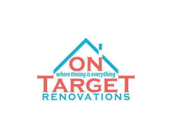 On Target Renovations logo design
