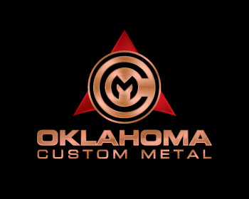 Oklahoma Custom Metals logo design