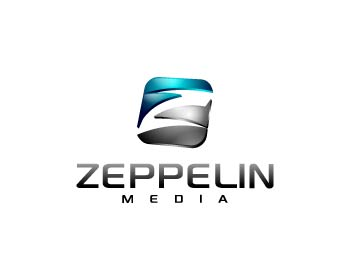 Zeppelin Media logo design