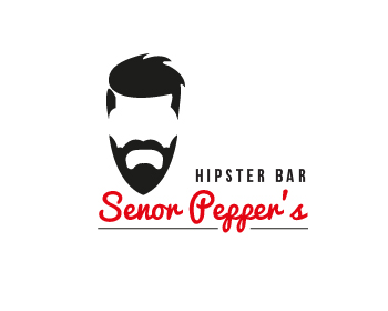 Senor Pepper's logo design
