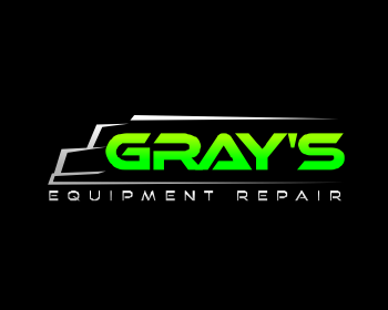 Gray's Equipment Repair logo design