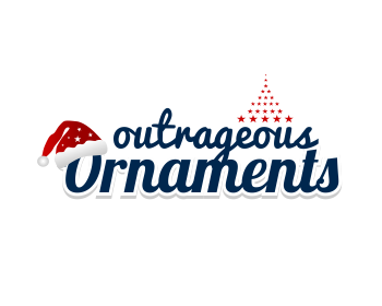 Outrageous Ornaments logo design