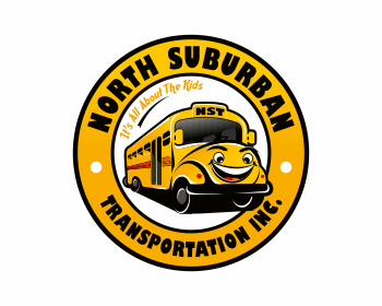 North Suburban Transportation Inc. logo design
