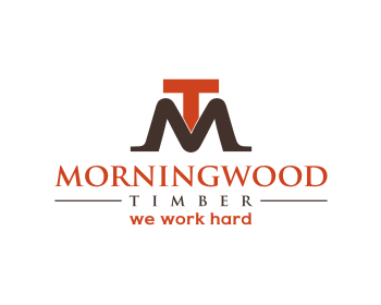 Morningwood Timber logo design