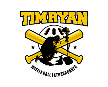Tim Ryan Wiffle Ball Extravaganza logo design