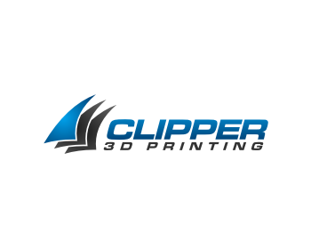 Technology logo design for Clipper 3D Printing