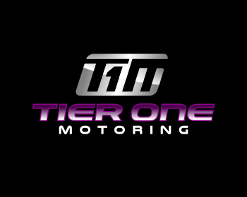 Tier One Motoring logo design