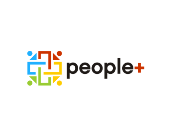 people+ logo design