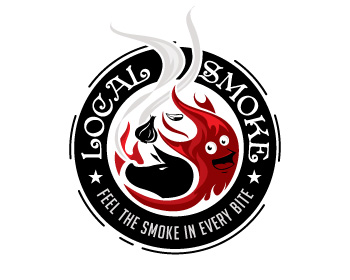 Logo design for Local Smoke