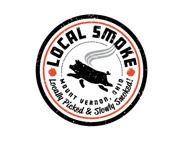 Local Smoke logo design