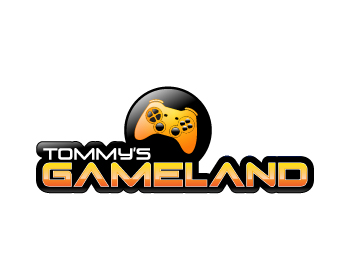 Tommys Gameland logo design