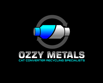 Ozzy Metals logo design
