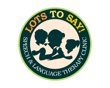 Lots to Say! Speech & Language Therapy Clinic logo design