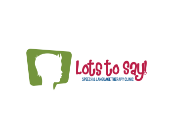 Logo design for Lots to Say! Speech & Language Therapy Clinic