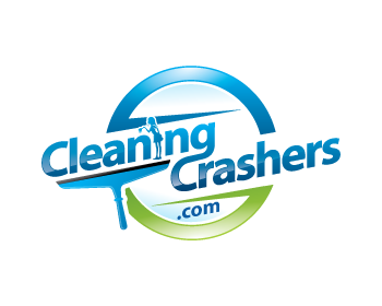 CleaningCrashers.com logo design