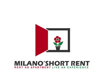 MILANO'SHORT RENT logo design