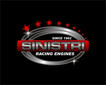 Sinistri Racing Engines logo design