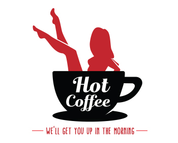 Hot Coffee logo design