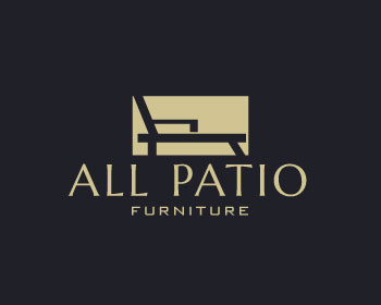 All patio furniture logo design