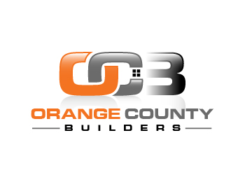 Orange County Builders logo design