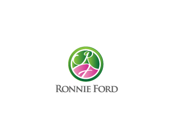 Ronnie Ford logo design