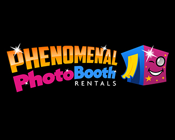 Logo design for Phenomenal Photo Booth Rentals