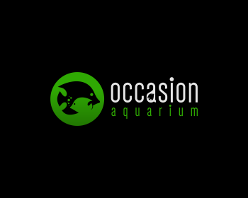 Logo design for Occasion Aquarium